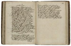 "Image from Folger <a href =""http://hamnet.folger.edu/cgi-bin/Pwebrecon.cgi?BBID=220253"">V.a.245, a poetical miscellany, ca. 1640.]"