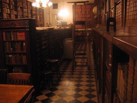 Figure 12. The rare book room.