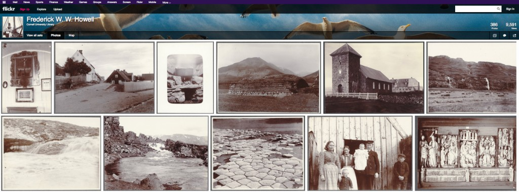 "Flickr Commons ""edition"" of the Icelandic and Faroese Photographs of W.W. Howell."