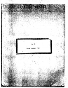 Key to KOREAN CASUALTY FILE