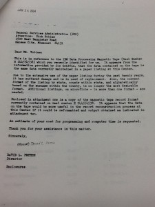 NPRC request for new file